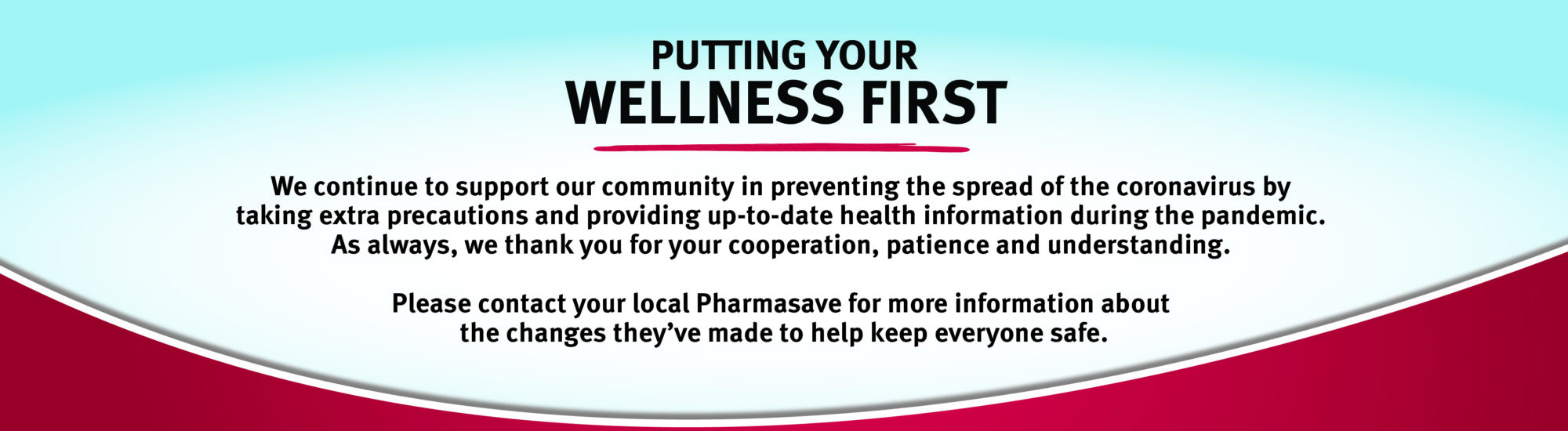 Your wellness first
