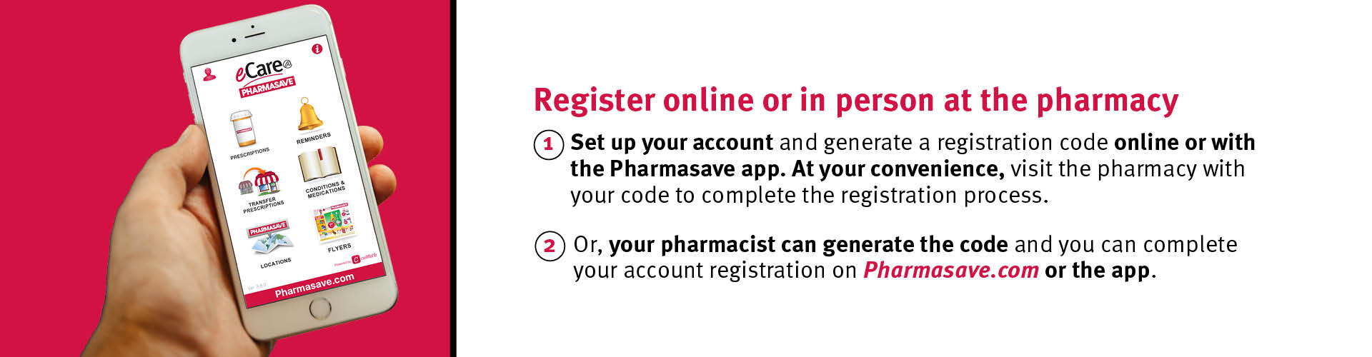 Register for an eCare Account