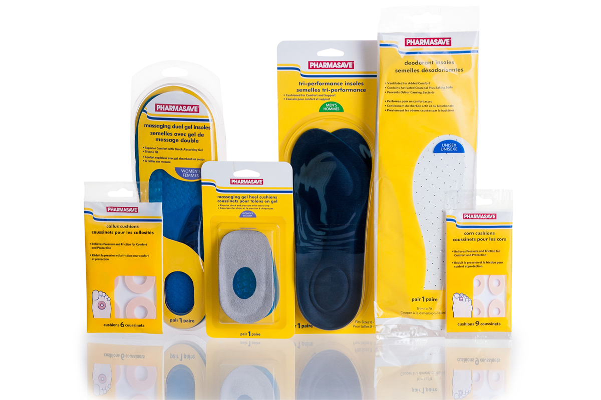 Foot Care Pharmasave products.