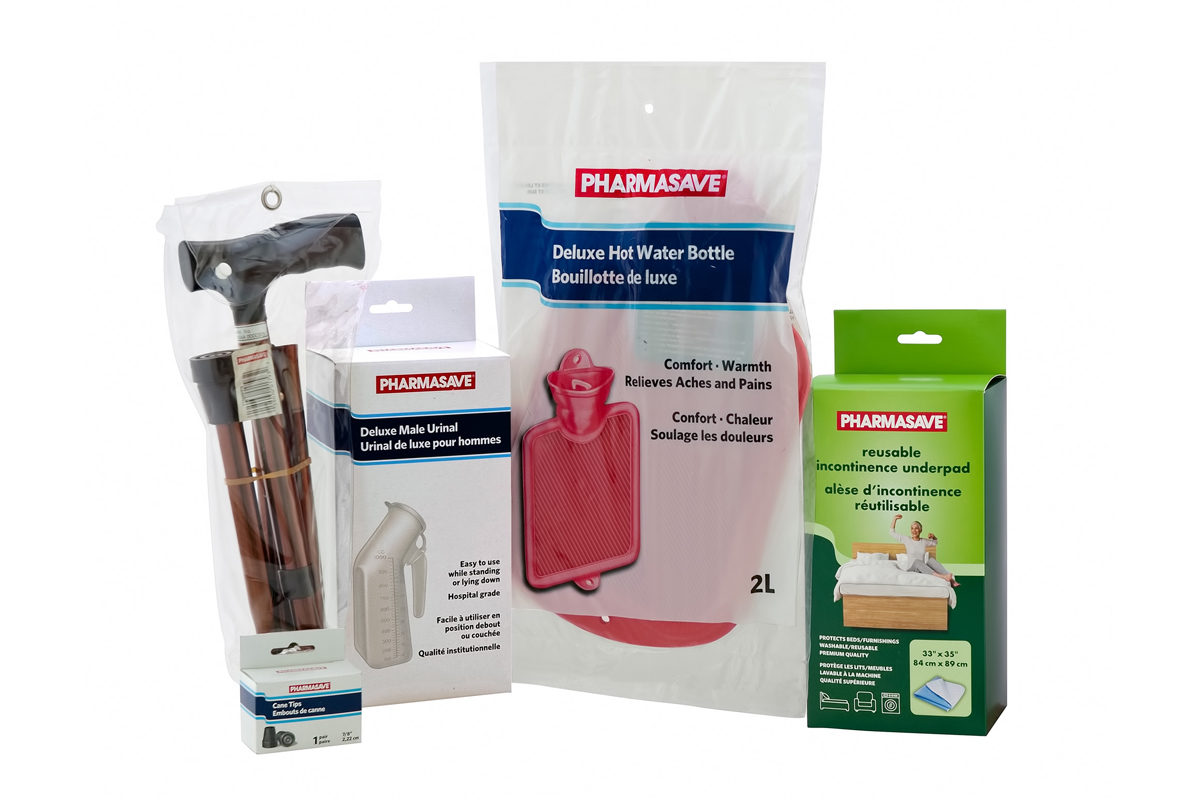Home Health Care Pharmasave products.
