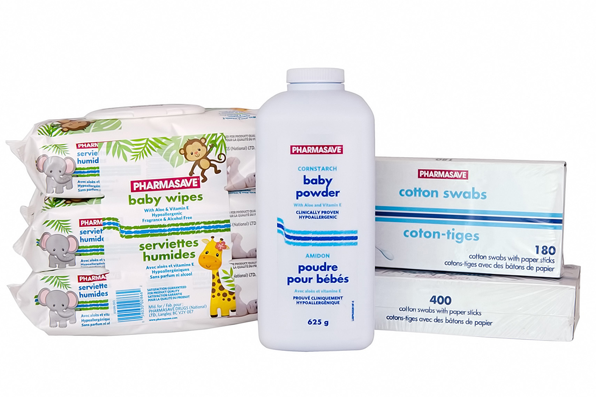 Baby and Child Pharmasave products.