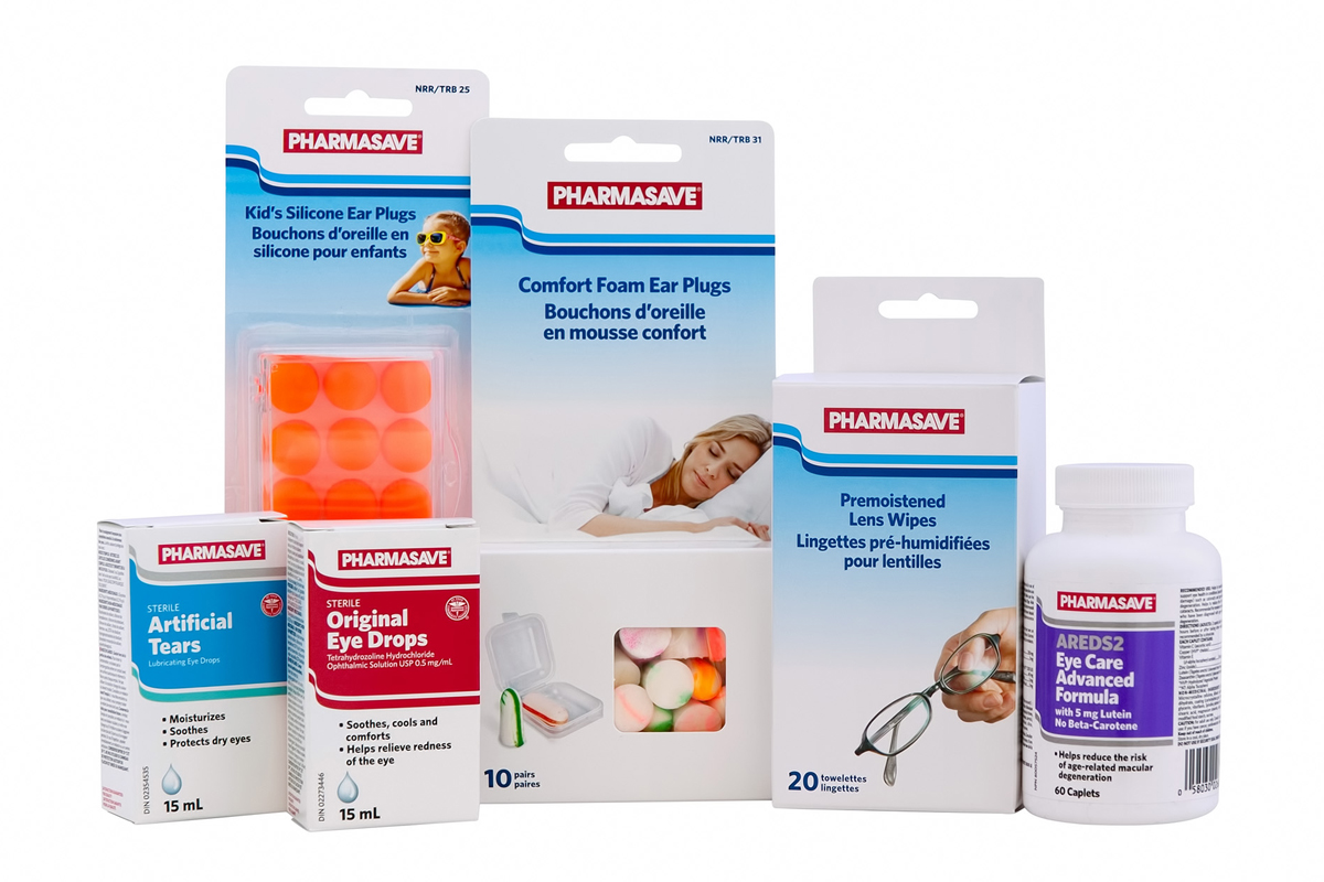 Ear and Eye Care Pharmasave products.